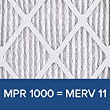 Filtrete 20x20x1 MPR 1000 Pleated AC Furnace Air Filter, Micro Allergen Defense, 6-Pack