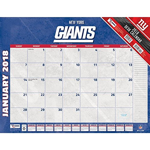 New York Giants Calendars Price Compare