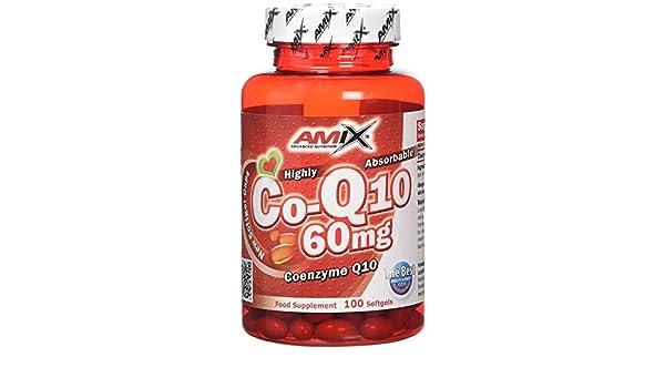 Amix 8594159533462, Coenzyme Q10 Vitaminas y Minerales, 42.47 gr: Amazon.es: Salud y cuidado personal