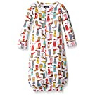 Mud Pie Baby Boots Convertible Gown, Multi, 0-3 Months