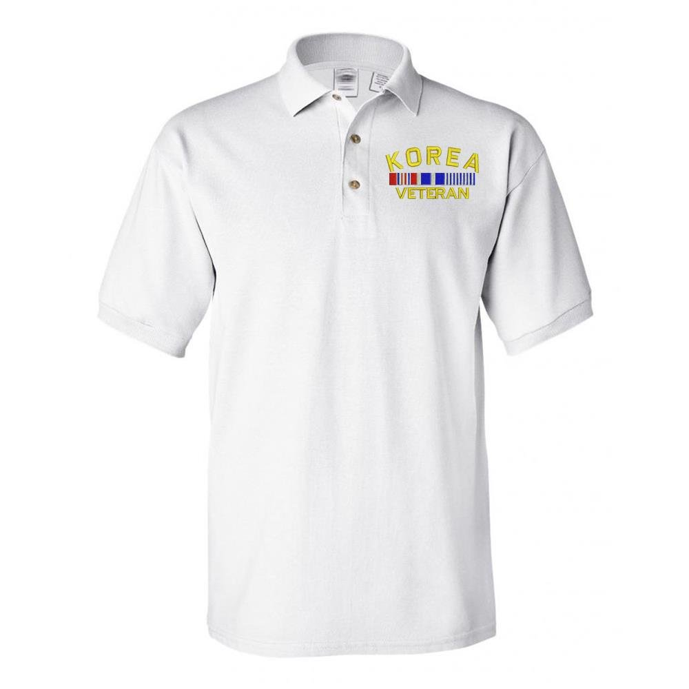 Amazon Military Korea Veteran Polo Shirt White Sports Outdoors