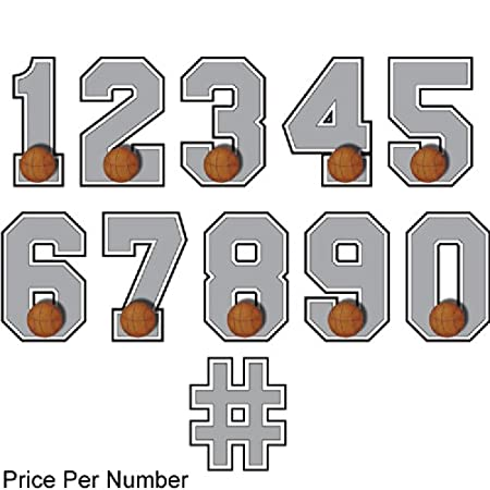 51heKfDzupL._SY450_ amazon com wall number \