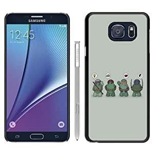Recommended Design Samsung Galaxy Note 5 Case,Teenage Mutant Ninja Turtles 2 Black Samsung Galaxy Note 5 Customized Case