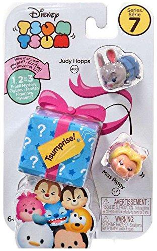 Disney Tsum Tsum Series 7 Style #6 - Judy Hopps/Miss Piggy/T