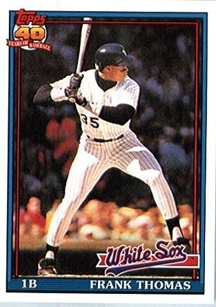 3011630d7a1 2016 Topps Berger s Best  BB-40 Frank Thomas Chicago White Sox Baseball Card