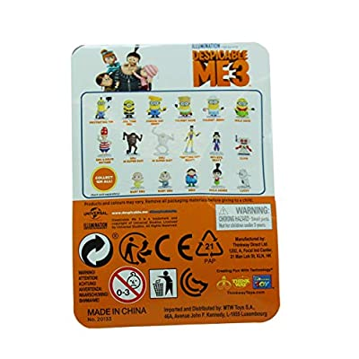 MMTW Despicable Me 3 Series 1 Surprise Figure Blind Bag Party Favours - Pack of 10: Toys & Games