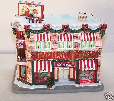 (Coca Cola Holiday Village Holly Leaves Market #A3130)