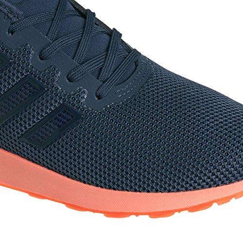 adidas Zx Flux Adv K, Zapatillas Bajas para Niños Azul Oscuro / Naranja