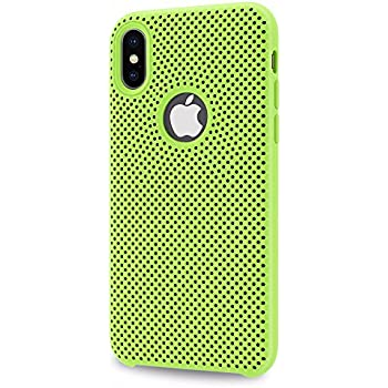 Allinside iPhone Xs/iPhone X Case [Motion Series] Dual Layer Protection for iPhone Xs/iPhone X Green/Black