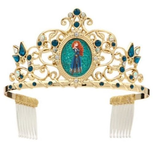Disney/Pixar Brave Merida Deluxe Costume Tiara/Crown Jeweled Accessory 3+ 2013
