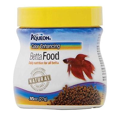 Aqueon Betta Color Enhancing Pellets Betta Food
