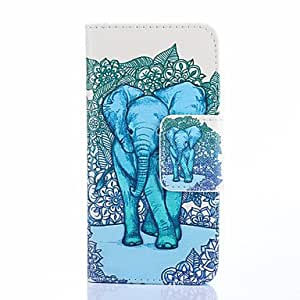 ZL Elephant Painting Phone Case for iPhone 5/5S