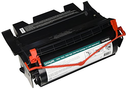 Lexmark T63X MID YIELD REMAN-FOR LABEL APPS BLK ( 12A7632 )