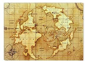 Startonight Canvas Wall Art Ancient World Map