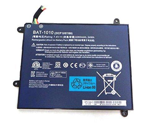 Batterymarket 7.4V 3260mAh 24Wh BAT-1010 Replacement Batt...