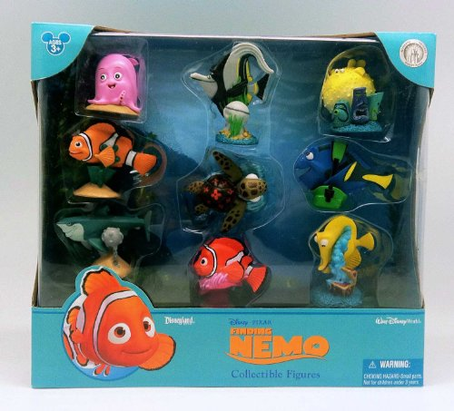 Finding Nemo Collectibles (Disney/Pixar Finding Nemo Figurine Figures Action Set)