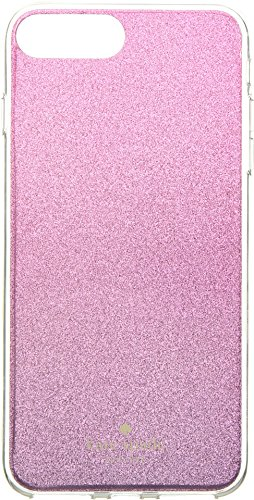 Kate Spade New York Women's Glitter Ombre Phone Case for iPhone 8 Plus Rasberry Multi One Size by Kate Spade New York