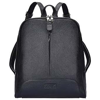 Amazon.com: S-ZONE Women Genuine Leather Backpack Purse