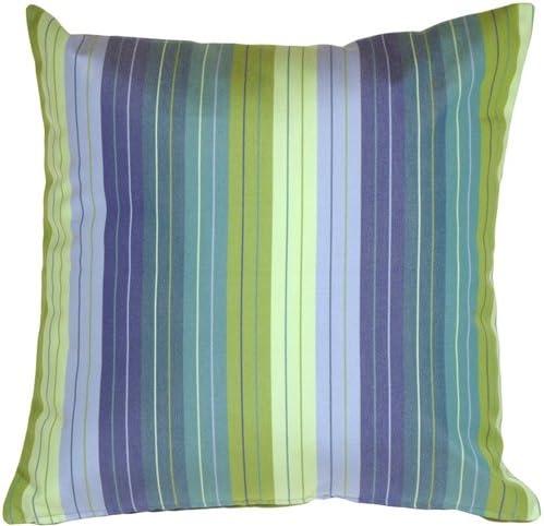PILLOW D COR Sunbrella Seville Seaside 20×20 Outdoor Pillow
