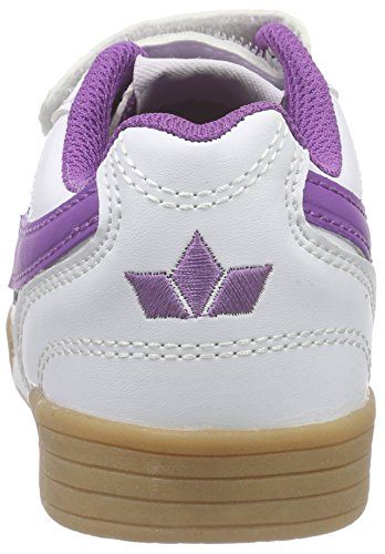 Lico Bernie - Zapatillas de deporte para niña Blanco - Weiß (weiss/lila)