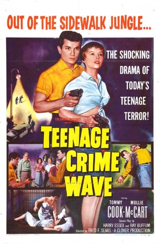 Teen-Age Crime Wave Poster Movie (27 x 40 Inches - 69cm x -