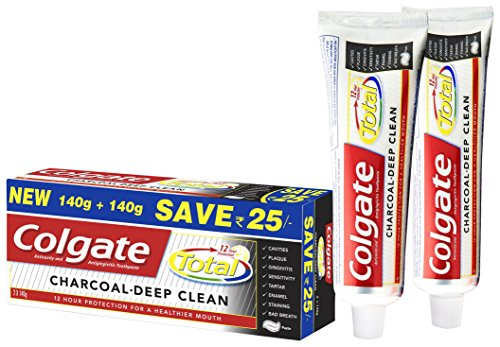Colgate Toothpaste Total Charcoal – 280 g (Advanced Protection)