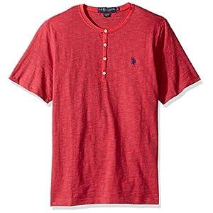 U.S. Polo Assn. Men's Solid Short Sleeve Henley Classic Fit T-Shirt