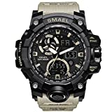 Men's Military Watch LED Display Digital Watch Sports Watches Multifunctional Large Wrist Watches