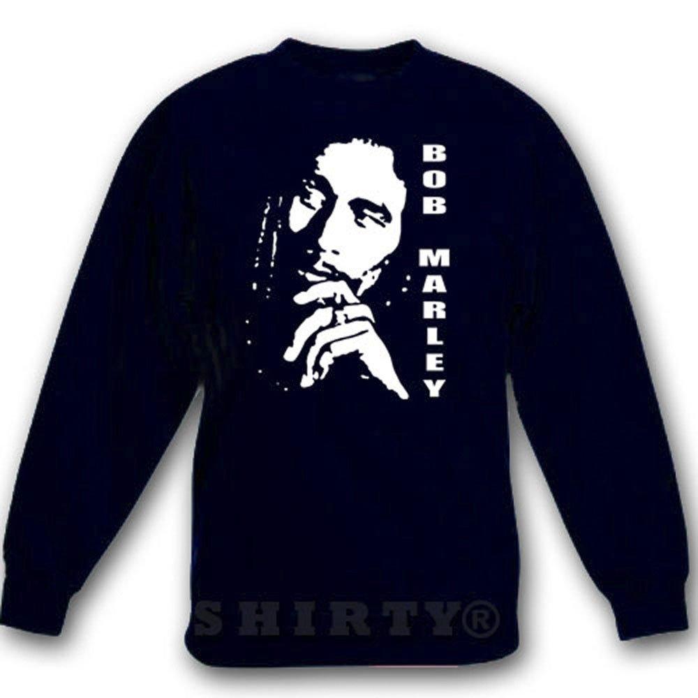 Bob Marley 1 - Sweat - Shirt - schwarz - S bis 5XL - 1096