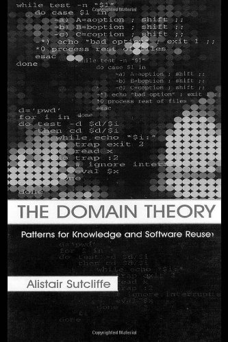 The Domain Theory: Patterns for Knowledge and Software Reuse by Brand: CRC Press