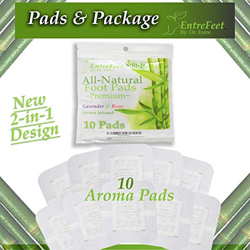 Dr  Entre's 2-in-1 Foot Pads: Mother Nature's Best for Pain