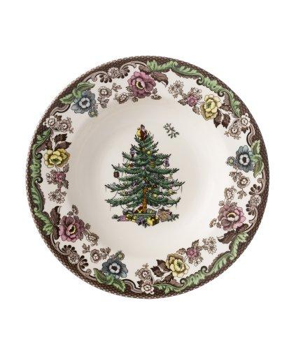 Spode Christmas Tree Grove 9-Inch Rim Soup - Amazon.com Spode Christmas Tree Grove 9-Inch Rim Soup: Rimmed Soup
