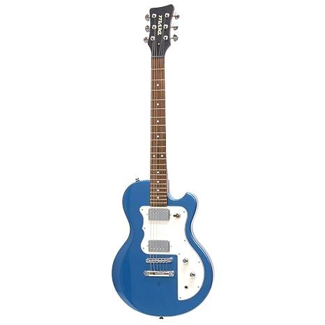 divill por Italia M100 guitarra eléctrica (azul metálico)
