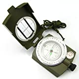 AmaranTeen - Lens Compass 3 in 1 Military Marching Army Outdoor Camping