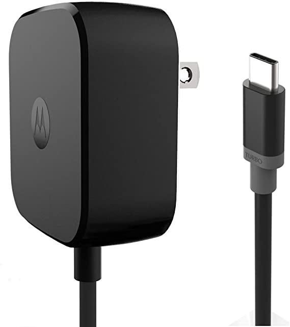 Motorola TurboPower 15 USB-C / Type C Fast Charger - SPN5913A (Retail Packaging) for Moto Z, Z Play