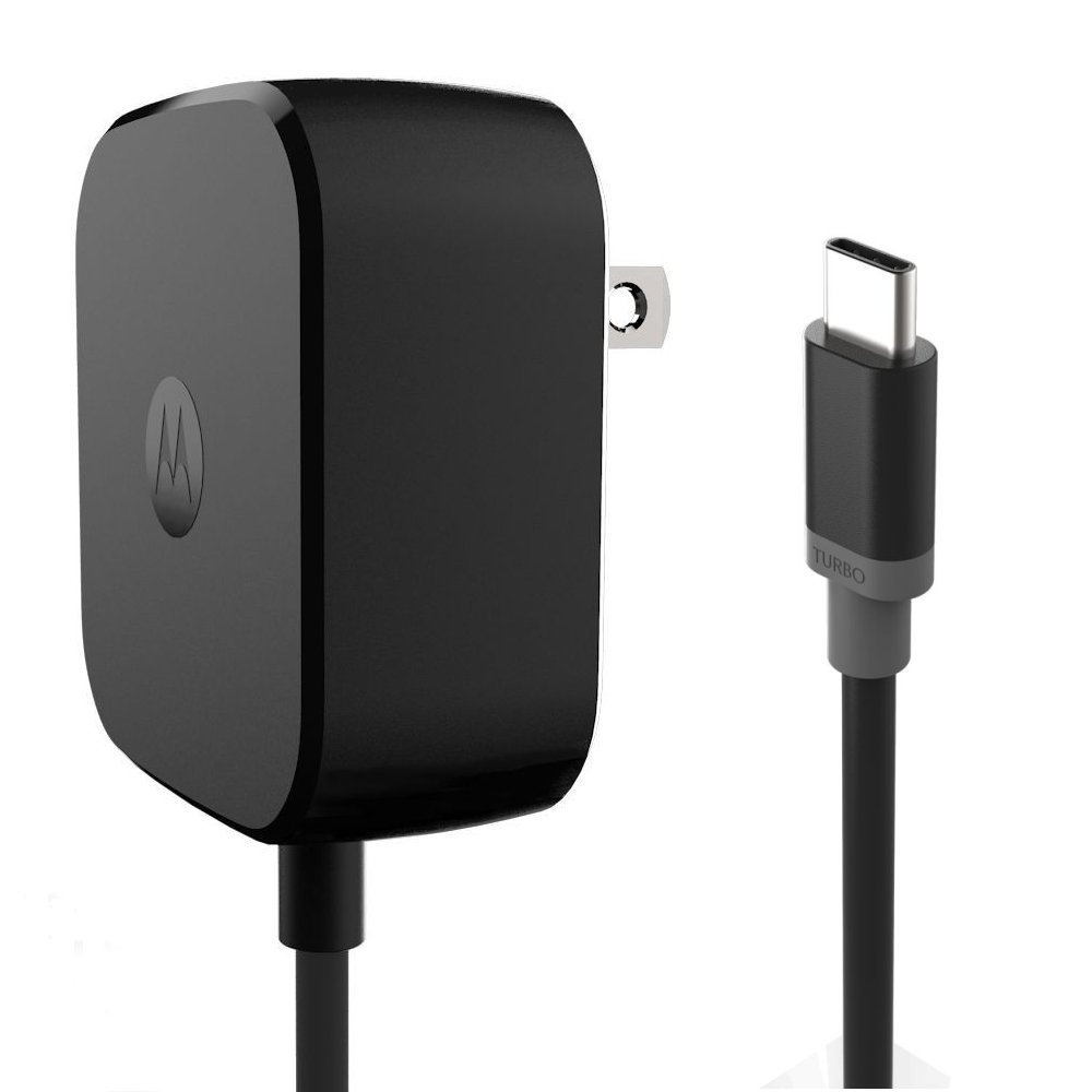 Motorola TurboPower 15 USB-C/Type C Fast Charger - SPN5913A (Retail Packaging) for Moto Z family