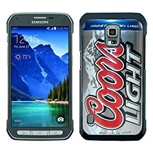 coors light beer can Black Samsung Galaxy S5 Active Screen Phone Case Luxury and Fashion Design
