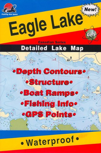 Fishing Hot Spots Map of Eagle Lake