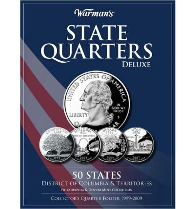 (State Quarters Deluxe 50 States, District of Columbia & Territories: Philadelphia & Denver Mint Collection: Collector's Quarter Folder 1999-2009 (Other merchandise) - Common)