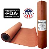 "Pink Butcher Kraft Paper Roll - 18 "" x 175' (2100"") Peach Wrapping Paper for Beef Briskets - USA Made - All Natural FDA Approved Food Grade BBQ Meat Smoking Paper - Unbleached Unwaxed Uncoated Sheet"