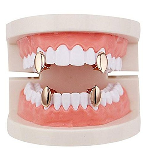 open face gold grill - 8