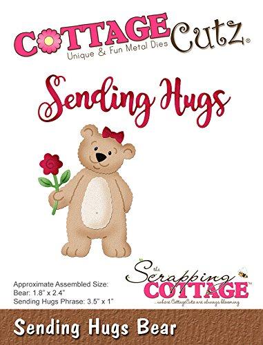 Cottagecutz Dies (CottageCutz CC-396 Die Sending Hugs Bear 1