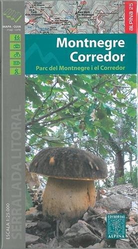 Descargar Libro Montnegre - Corredor, Mapa Excursionista. Escala 1:25.000. Alpina Editorial. Vv.aa.