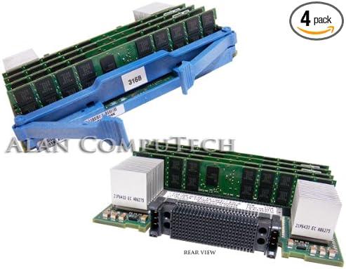 IBM 8GB 4x2GB CUoD 533Mhz DDR2 Memory Card 41V1956