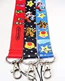 Best Collector Books Friend Clothings - 3pcs Super Mario LANYARD mobile phone Cartoon chain Review