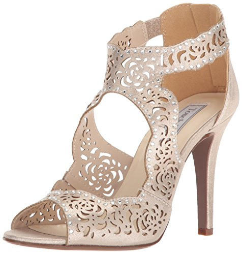 Touch Ups Women's Margot Heeled Sandal Champagne cvyNHa9wTr