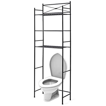 Amazon.com: 3-Tier Metal Bathroom Shelf Space Saver, EZOWare Over ...