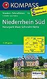 Niederrhein Süd - Naturpark Maas - Schwalm - Nette: Wanderkarte mit Radrouten. GPS-genau. 1:50000 (KOMPASS-Wanderkarten, Band 755)