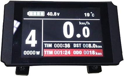 KT-LCD8 Color Display 24//36//48V Intelligent E-bike Display Fit for KT Controller