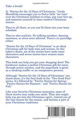 stories for the 12 days of christmas paperback linda mansfield 9780996243315 amazoncom books